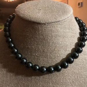 NWT Ralph Lauren Black Beaded Necklace